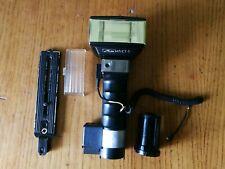 Flash METZ 45 CT-5 con diffusore cavo e staffa