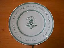 Arabia Finland GREEN THISTLE Set of 3 Dinner Plates 10 3/8