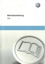VW GOLF  7 Betriebsanleitung 2012 Bedienungsanleitung Handbuch Bordbuch BA