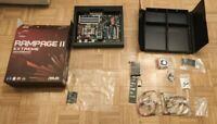 ASUS Rampage II Extreme Motherboard LGA1366 64GB DDR3 X58 HDMI Intel SLi BOXED