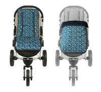 Keep Me Cosy™ Pram Liner + Footmuff 2 in 1 Set (Infant) - Playful Plane