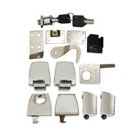 Tour Pack Trunk Hardware Latches Lock Key Kit Fit For Harley Street Glide 06-13