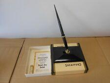 vintage sheaffer's fountain pen desk set IOB writing instrument desktop