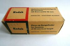 Vintage KODAK RETINA Close-up rangefinder and lenses in case (boxed)