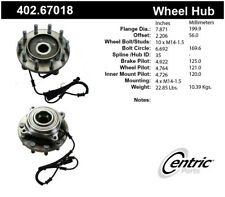 Wheel Bearing and Hub Assembly-Premium Hub Assemblies Front Centric 402.67018