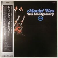 Wes Montgomery Movin' Wes Verve Records MV 2113 OBI JAPAN VINYL LP JAZZ