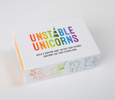 Unstable Unicorns Base Game Family Party Strategic Card Game Fast Shipping
