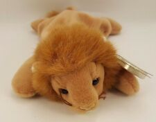 """Ty Beanie Babies Baby """"Roary"""" 9"""" Long The Lion 1996 -Retired:"""