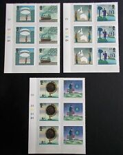 GB QEII 2007 World of Invention Set of 6 in Cylinder Blocks of 6 (D1 D1D1D1D1)