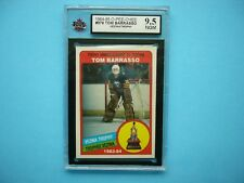 1984/85 O-PEE-CHEE HOCKEY CARD #379 TOM BARRASSO ROOKIE TROPHY KSA 9.5 NGM OPC