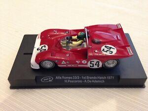 Slot it Alfa Romeo Brands Hatch and Mazda Autopolis 1/32 scale Slot Cars