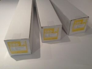 """Inkjet Canvas Rolls 13""""- 60"""" Poly 260GSM & 280GSM Matte or Gloss 18 or 30mtr"""