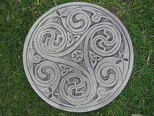 3 Swirl Celtic Sepping Stone garden ornament / other designs in my shop