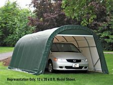 ShelterLogic Replacement Cover 12x24x8 Round Green 211214 2A1214 for model 72342