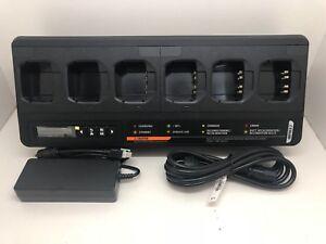 Globe Roamer Motorola PMPN4283 IMPRES 2 MotoTRBO DP & APX 6 Bay Multi Charger