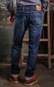 Freeman T. Porter Jimmy stretch Denim Used Blue Herren Jeans S-XXL Neu  99,95