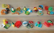 ANGRY BIRDS COMPLETE SET WITH ALL PAPERS KINDER SURPRISE 2015 FERRERO