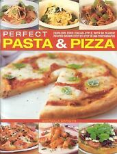 Perfect Pasta and Pizza: Fabulous food Italian-style, with 60 classic-ExLibrary