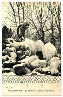 CPA 38 Isère Grenoble Le Torrent du Jardin de Ville l'hiver