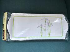Corelle Corning Ware SHADOW IRIS Melamine Tidbit Tray New In Package