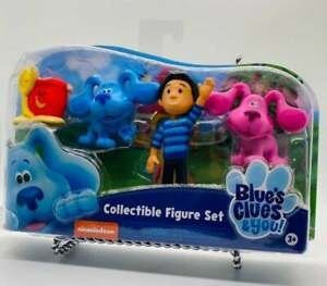 Blues Clues & You Collectible Figure Set Brand NEW