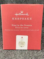 2019 Hallmark Keepsake Ornament - Ring in the Season Bell - 5th in Series - New