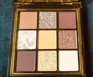 Huda Beauty Toffee Brown Obsessions Eyeshadow Palette.  BNIB. RRP £27
