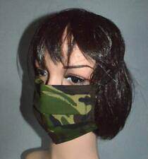 A New Cloth Facemask With Moisture Proof Lining .Camouflage Design.
