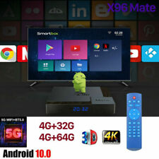 More details for x96mate/x96mini 4g+64g quad core android smart tv box media player wifi hdmi uk