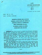 AEROSMITH 1992 promo PUBLICITY RELEASES!!! Press Media Kits - 5 Different