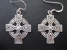 Croci celtiche ARGENTO 925er Orecchini Pendenti Keltik/KA 774 o