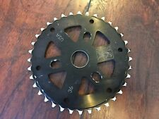 36t Animal Bike Co Bmx Sprocket S&M Merritt T1 Fbm  Black Og Original Rare Mid