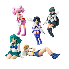 SAILOR MOON - SET 5 FIGURAS / CHIBIUSA & SATURN & NEPTUNE / 5 FIGURES SET 6cm