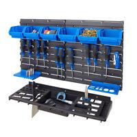 Garage Shed Workshop Wall Tools Storage Rack Kit Inc Tool Rack Storage Kits