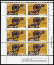 Canada Stamp SHEET#656 - The Sprinter (1975) $1 HB