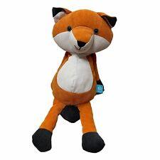 Manhatten Toy Orange Corduroy Fox Small Plush Stuffed Animal