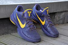 Nike Zoom Kobe 6 429659-501 us9 42.5 lakers baloncesto sneakers-Top reciben