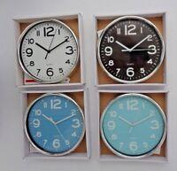 Wanduhr Rund Klassisch Design Quarz Uhr Büro Uhr Wand Uhr