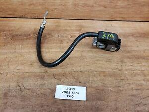 ✅ 06-10 OEM BMW E60 Sedan Battery Negative Cable Terminal IBS sensor Ground