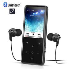 AGPTEK Grand Ecran Mp3 Bluetooth 4.0 C2, Corps Miroir avec Ecran HD de 2,4 Pouce