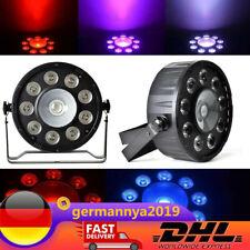 1X30w LED PAR64 RGB STAGELAMP DMX 9X3W LED Bühnenbeleuchtung Licht 80W DE DHL