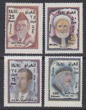 Irak Iraq 2002 ** Mi.1702/05 Dichter Poets