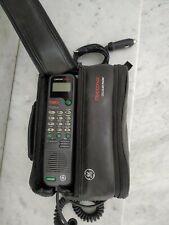GE CELLULAR CARFONE 5000 vintage  Bag Phone GE Transpak  Car Phone