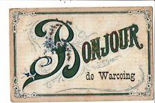CPA-Carte Postale -Belgique-Bonjour de Warcoing-1910? VM21492dg