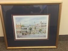"""Framed and Matted """"South Battery"""" by Emerson Print"""