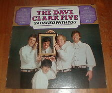 "DAVE CLARK FIVE Orig 1966 ""Satisfied With You"" LP MONO SEALED"