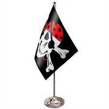 Pirate Skull and Crossbones One Eyed Jack 3/'x2/' Flag
