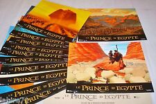 LE PRINCE D'EGYPTE   jeu photos cinema lobby cards animation