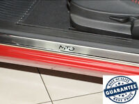 Stainless Steel Door Sill Guard Scuff Protector fit Alfa Romeo MITO 2008- 2pcs