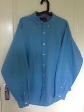 Men's Blue Cremieux Striped Shirt, Size: XL